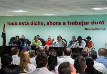 Programa Al Corriente correspondiente al sábado 20 de enero de 2018. Foto: Asamblea Provincial del Poder Popular en Holguín.
