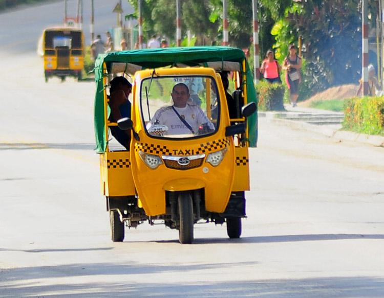 Al cierre de diciembre último, más de 330 mil pasajeros fueron transportados en motos triciclos. Foto: Carlos Rafael/Ahora.