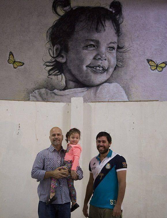 """Gema es la nueva """"Colosa"""" de Maisel López Valdés. Foto tomada de Facebook."""