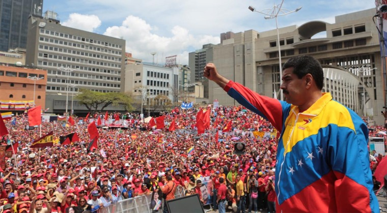 El pueblo venezolano ha demostrado que es más fuerte que la dificultades, afirmó Maduro. Foto: La Radio del Sur.