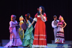 Actuación del Teatro Lírico Rodrigo Prats, durante la gala de premiaciones del Suceso Cultural en Holguín, efectuada en el Teatro Eddy Suñol, de la ciudad de Holguín, Cuba, el 6 de marzo de 2018. ACN FOTO/Juan Pablo CARRERAS