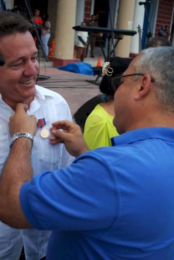 Acto provincial en Holguín por el Día de la Prensa en Cuba. Foto: Carlos Parra Zaldívar.