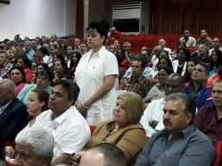 Carmen Gertrudis Bejerano Tamayo, Vicepresidenta de la Asamblea Provincial del Poder Popular de Holguín. Foto: Alexander Rojas.