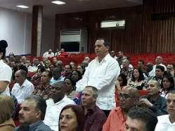 Julio Cesar Estupiñán Rodríguez, Presidente de la Asamblea Provincial del Poder Popular de Holguín. Foto: Alexander Rojas.