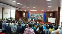 Sesión constitutiva de la Asamblea Provincial del Poder Popular en Holguín. Foto tomada de Facebook.
