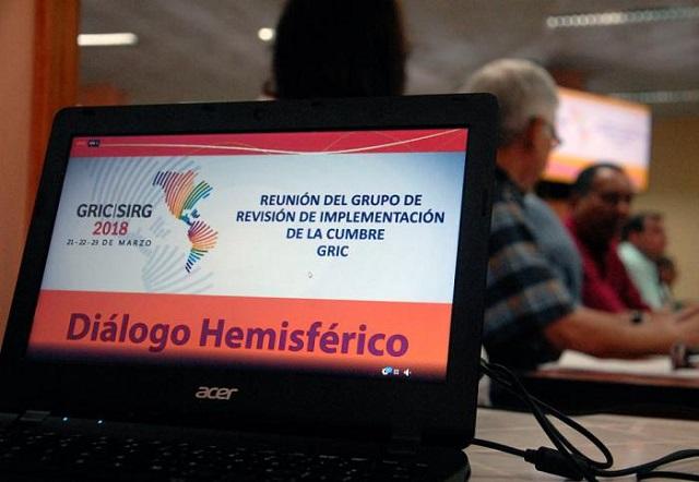 Transcurrió en Perú, sede de la VIII Cumbre de las Américas, el Diálogo Hemisférico como parte del proceso preparatorio del evento. (Dunia Álvarez Palacios / Granma)