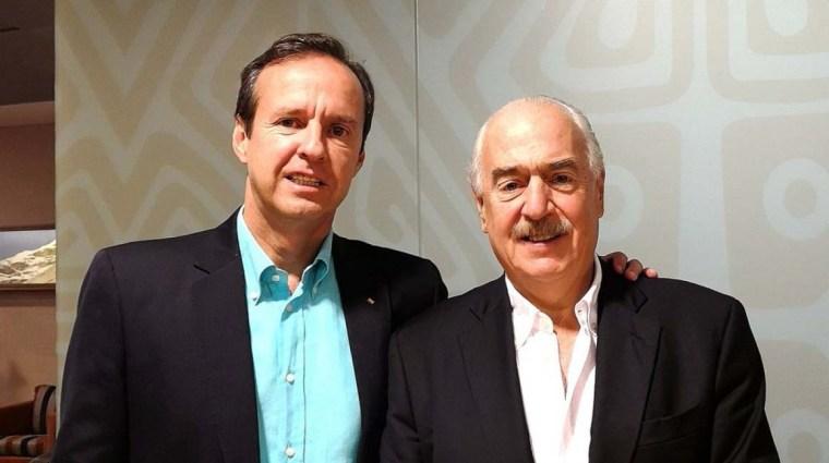 Expresidentes Pastrana y Quiroga listos para viajar a La Habana a montar su show mediático. Foto tomada de internet.