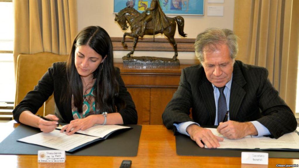 Rosa María Payá y Luis Almagro, ¿estarán escribiendo su propia versión del informe del lunes para después unirlo?