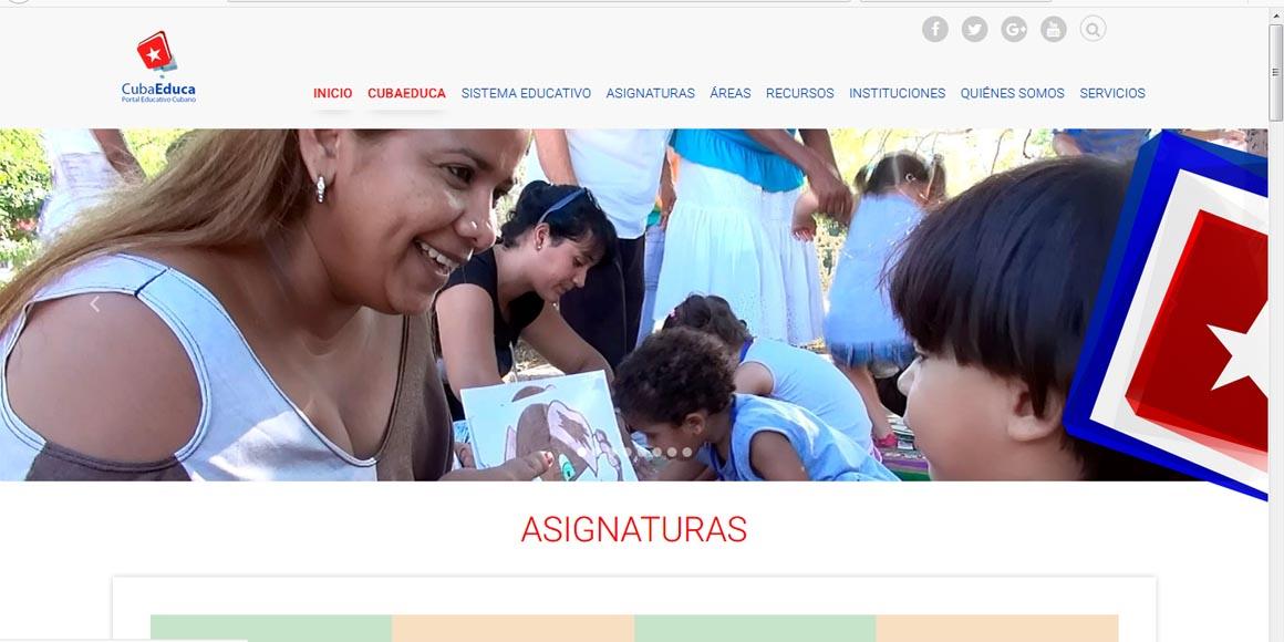 Portal CubaEduca obtiene premio especial en Informática 2018
