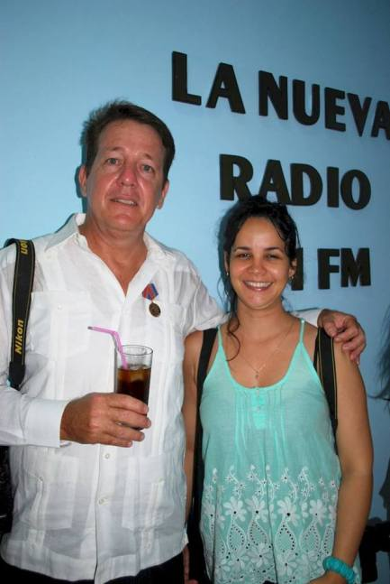 Reinauguración de la emisora municipal Radio Holguín la Nueva. Foto: Carlos Parra Zaldívar.