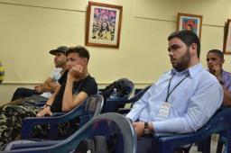 Encuentro nacional de Estudiantes de Periodismo en el arco de Apunto 2018. Fotos: Luis Ernesto Ruiz Martínez.
