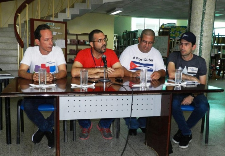 El evento Bloguerias de Mayo desarrolla se sexta edición. Foto: Lázaro David Najarro.