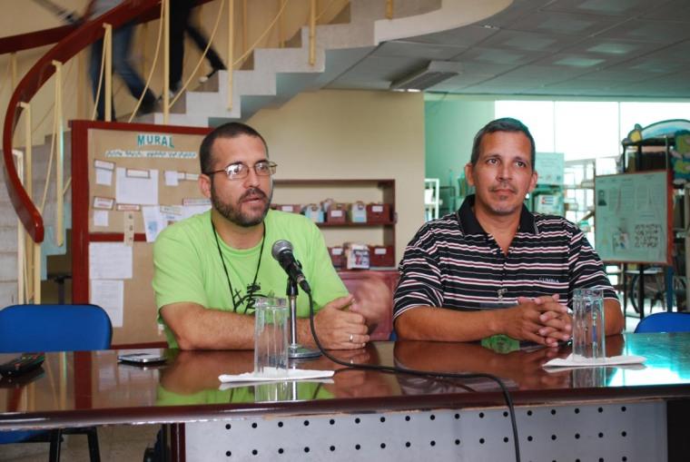 Segundo día de sesiones en Bloguerías de Mayo. Foto: Carlos Parra Zaldívar.