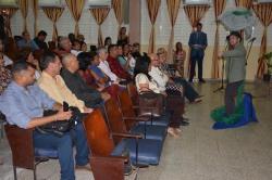 Acto de entrega de Títulos de Doctor en Ciencias, efectuado en la sede José de la Luz y Caballero de la Universidad de Holguín, el 30 de mayo de 2018. UHo FOTO/Luis Ernesto Ruiz Martínez.