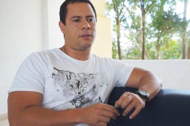 Israel Rojas ofrece declaraciones para Cubavsbloqueo.