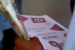 Serán 29 los holguineros que participarán en el Noveno Congreso de la Federación Estudiantil Universitaria. UHo FOTO/Luis Ernesto Ruiz Martínez.