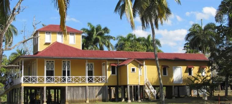 Casa natal de la familia Castro en Birán. Foto tomada de internet.