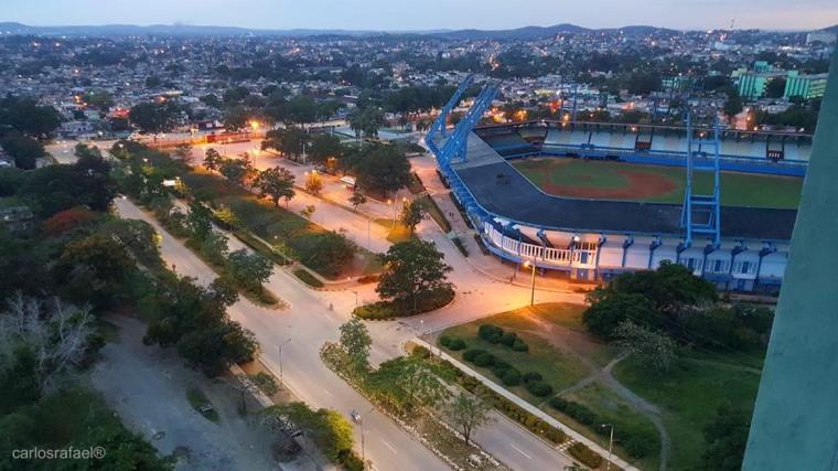 Estadio Calixto García. Foto: Carlos Rafael Díaz Borges.