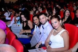 Acto de Graduación del curso regular diurno de la Universidad de Holguín, efectuado en el Teatro Comandante Eddy Suñol, el domingo 15 de julio de 2018. UHo FOTO/Torralbas.