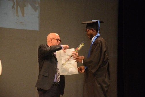 Reconocimiento a los Mejores graduados en el acto de Graduación del curso regular diurno de la Universidad de Holguín, efectuado en el Teatro Comandante Eddy Suñol, el domingo 15 de julio de 2018. UHo FOTO/Torralbas.