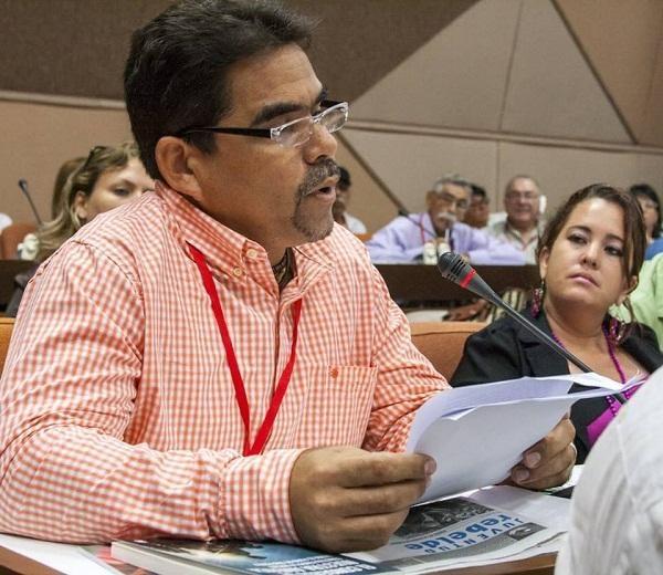 Intervención de Yoel García en X Congreso de la UPEC.