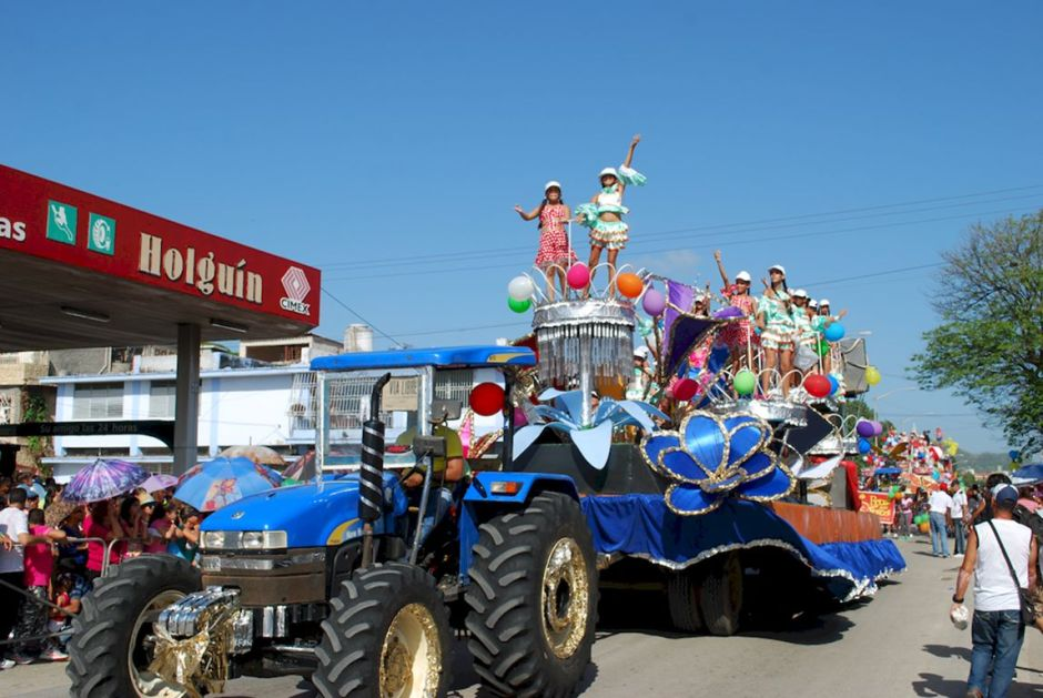 Abundante diversión en el Carnaval Infantil Holguín 2018. Foto: Carlos Parra Zaldívar.