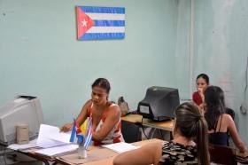 Comenzaron las matrículas en la Universidad de Holguín. Foto: Luis Ernesto Ruiz Martínez.