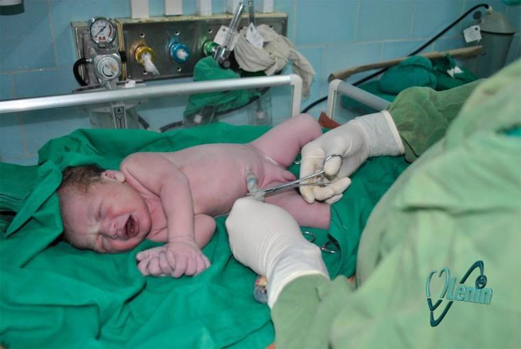 Foto tomada de la página del Hospital Lenin en facebook.