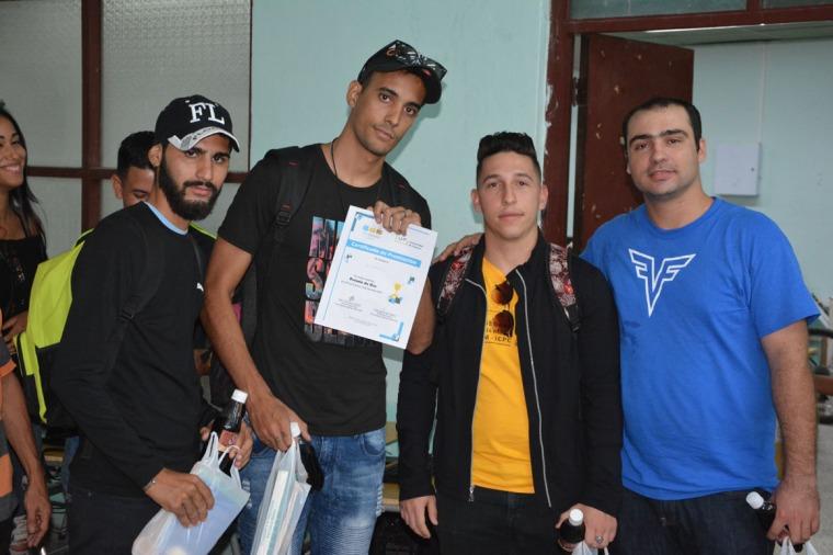 UpLikeThis, Premio de Oro en Final Nacional ACM-ICPC, subsede UHo. Desarrollada el sábado 6 de octubre en la sede Oscar Lucero Moya. UHo FOTO/Luis Ernesto Ruiz Martínez.
