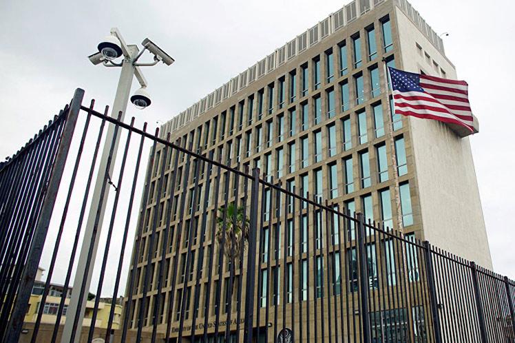 Sede de la Embajada de Estados Unidos en La Habana