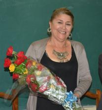 Suzel Salazar Rosabal. Panel por la Cultura Cubana desarrollado en la sede José de la Luz y Caballero, el 17 de octubre de 2018. UHO FOTO/Luis Ernesto Ruiz Martínez.