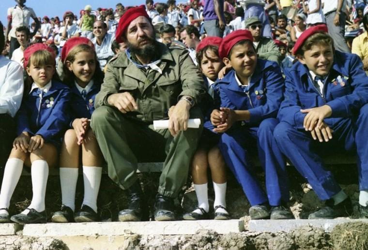 """Inauguración del Campamento de Pioneros """"José Martí"""" en Tarará. La Habana, 20 de julio de 1975"""