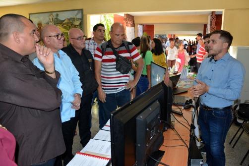 Expo Feria que inicia las celebraciones por el Aniversario 50 de la Universidad de Holguín. Foto: Luis Ernesto Ruiz Martínez.