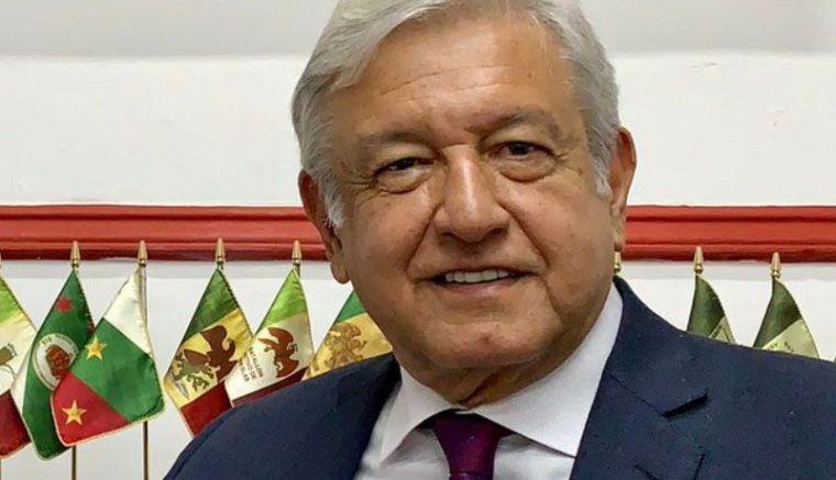 Andrés Manuel López Obrador presidente de México. Foto tomada de internet.