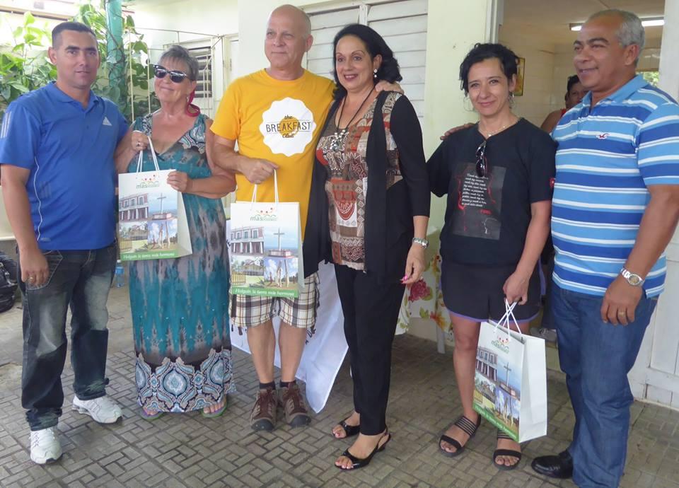 Despide el ICAP en Holguín a Brigada canadiense de solidaridad y trabajo voluntario