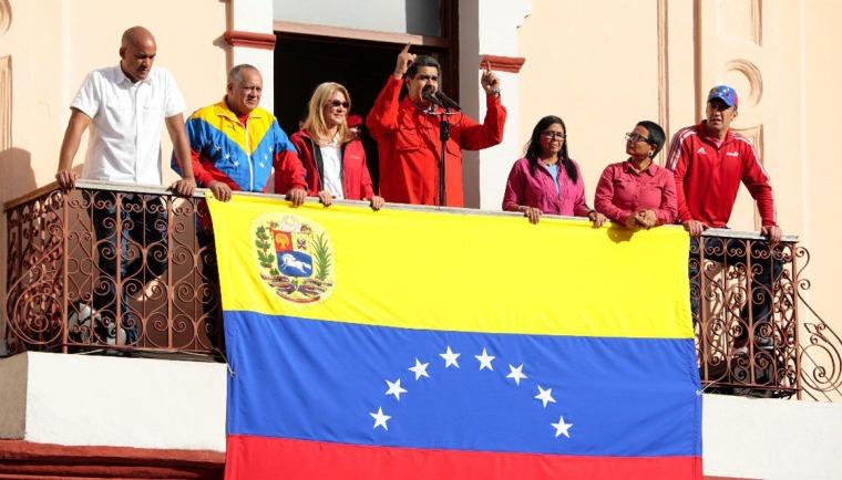 Presidente Maduro anuncia ruptura de relaciones diplomáticas y políticas con EEUU. Foto tomada de Twitter.