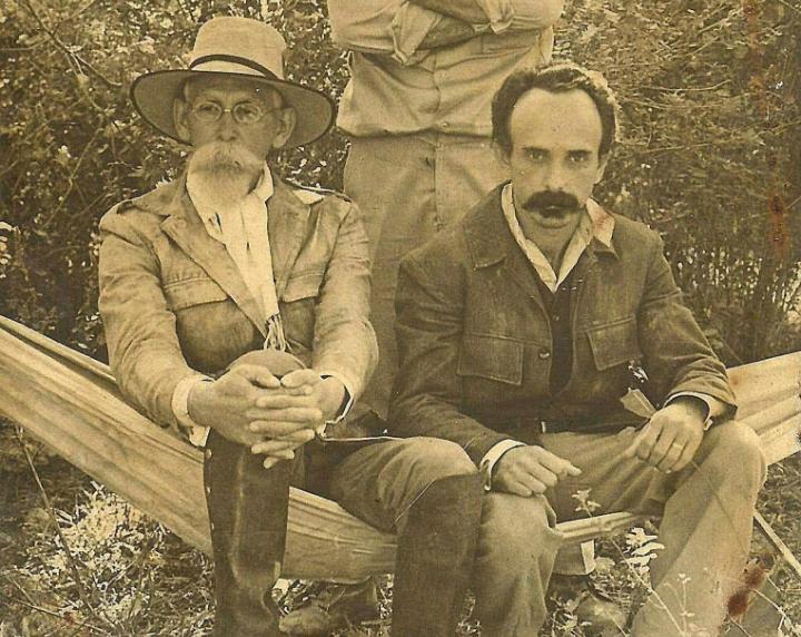 Fotograma de la película cubana Páginas del diario de José Martí