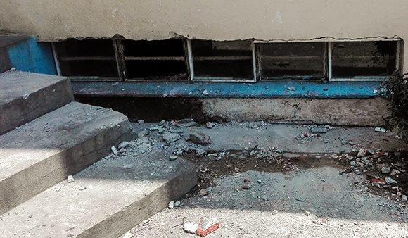 #LoDiceCubadebate: fuera de peligro niños tras desplome de pequeña parte de un alero en escuela de La Habana (+Fotos)